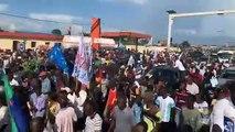 "RDC: Le président ""élu""  Martin Fayulu  ce dimanche à Kinshasa"