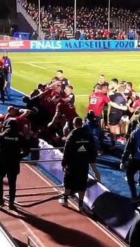 Munster et Saracens en viennent aux mains après une insulte sur Jamie George