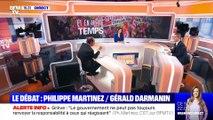 Réforme des retraites: débat entre Philippe Martinez et Gérald Darmanin (2/3) - 15/12