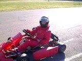 """karting """"MS1"""" en action a LUBERSAC"""