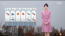 [날씨] 겨울 추위 없어요...미세먼지 '보통'