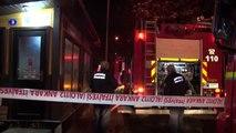 Başkent'te gece kulübünde yangın: 2 kişi dumandan etkilendi