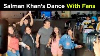 Salman Khan DANCES With Fans & Media On Munna Badnaam Hua | Dabangg 3 Promotions
