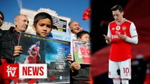 Arsenal match pulled from Chinesebroadcast after star player's criticism