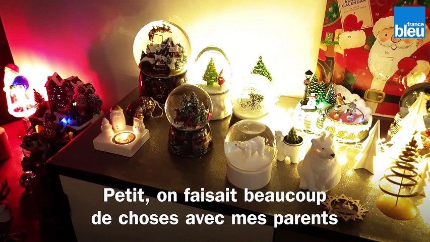 Marc, journaliste et passionné de Noël, collectionne tout ce qui est décoration de Noël