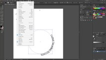 Adding text in the shape of a circle (Adobe Illustrator) (2)