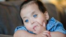 L'histoire de Primrose, une petite fille aux yeux complètement bleus