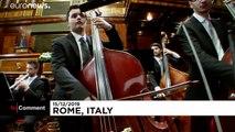 Karácsonyi koncert az olasz szenátusban