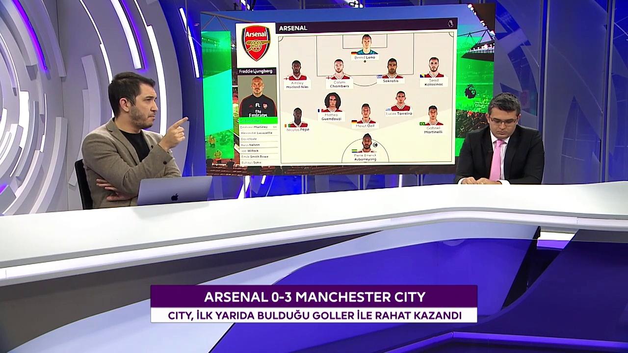 Arsenal - Manchester City Maçının Ardından Değerlendirmeler