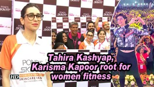 Tahira Kashyap, Karisma Kapoor root for women fitness