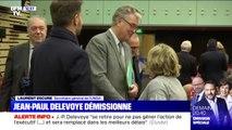 """Laurent Escure (UNSA) sur la démission de Delevoye: """"C'est une décision qui lui appartient"""""""