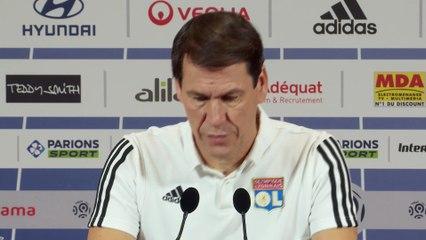 OL, #Juventus, #Ronaldo, #Pjanic, les blessures Memphis/Reine-Adelaïde : Rudi #Garcia après le tirage des 8es de Ligue des Champions