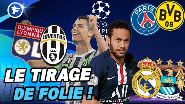 Ligue des Champions : le tirage au sort complet des huitièmes de finale de la Ligue des Champions