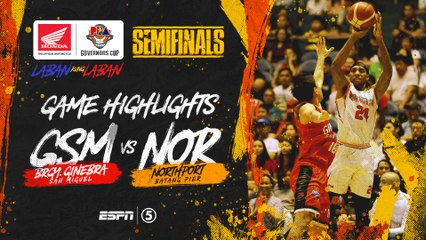Highlights: G2: Ginebra vs NorthPort | PBA Governors' Cup 2019 Semifinals
