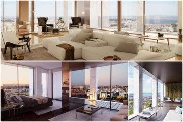 L'appartement de Cristiano Ronaldo. Le plus cher du Portugal