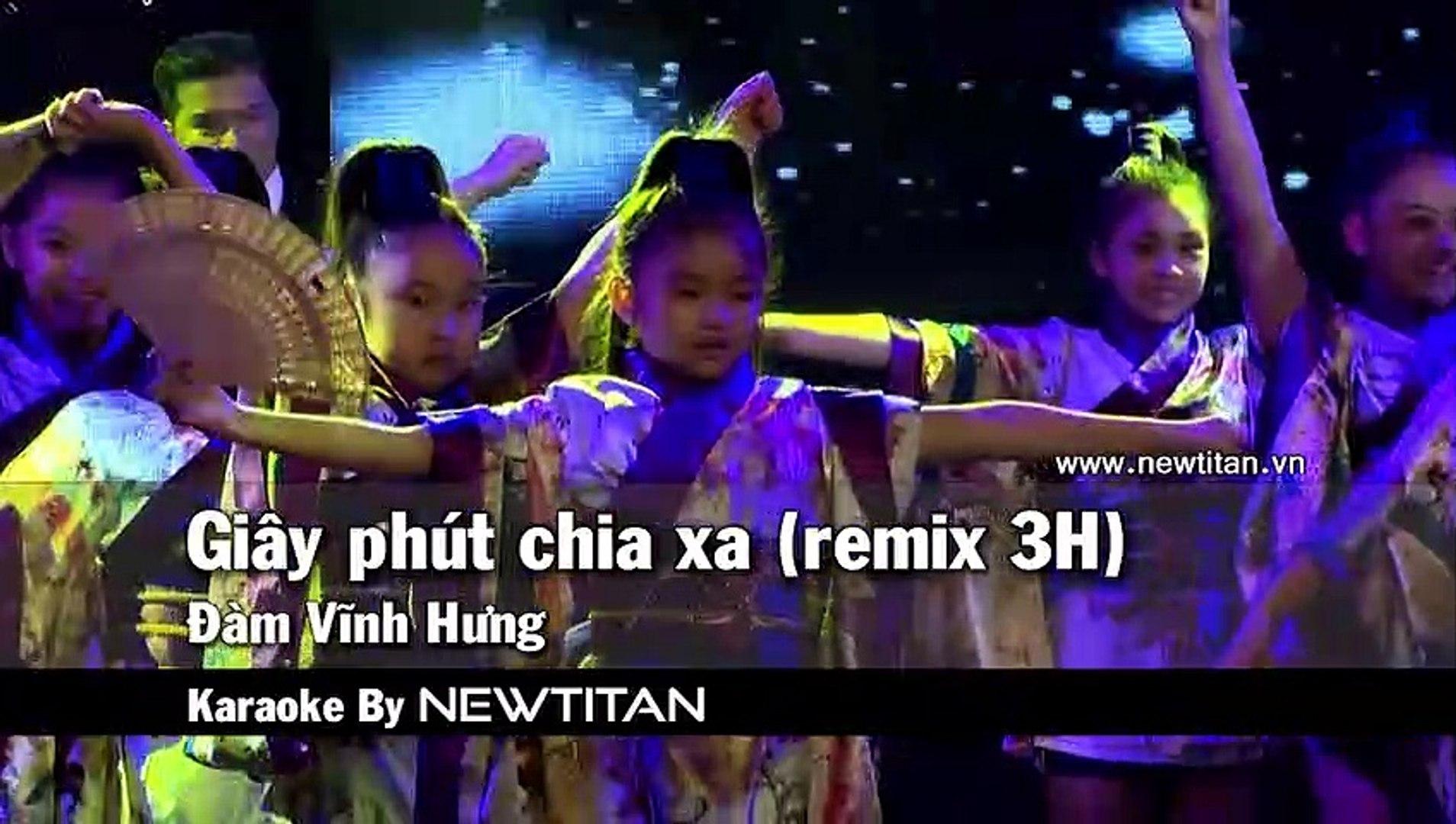 [Karaoke] Giây Phút Chia Xa (Remix 3H) - Đàm Vĩnh Hưng [Beat]