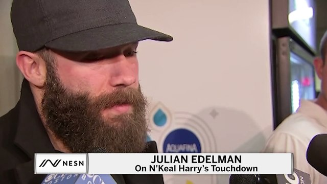 Edelman on N'Keal Harry Touchdown
