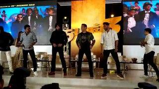 Salman, Prabhudeva, Sudeep groove to 'Munna Badnam' in Chennai