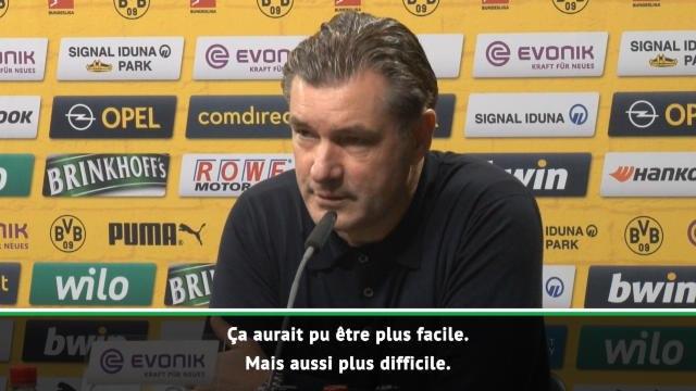 8es - Zorc : ''Ce n'est pas Dortmund contre Tuchel''