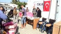 TİKA'dan Gazze'deki engellilere destek