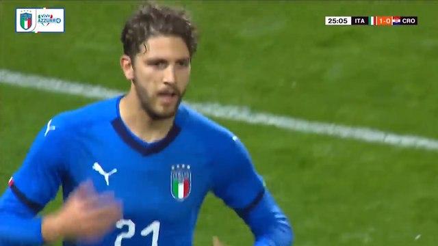 Le joli but de Manuel Locatelli avec les U21 italiens