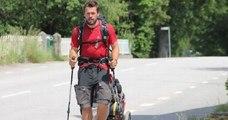 Après une traversée de l'Europe à pied, l'aventurier Kévin Plessis a ramassé 6700 déchets sur son chemin
