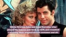 Olivia Newton-John and John Travolta just had a Grease reunion of epic proportions