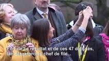 SNP: Arrivée des députés à Londres après leur victoire électorale