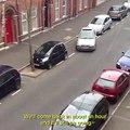 ¿No crees que aparcar en ese hueco es fácil?; pues mira lo que hace este conductor