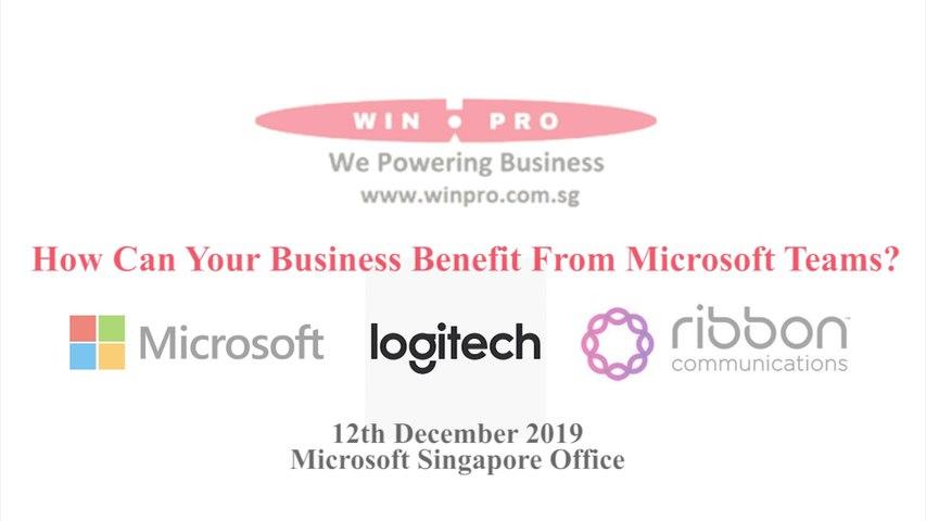 Win-Pro@Microsoft 12 Dec 2019