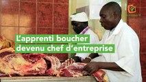 L'apprenti boucher devenu chef d'entreprise