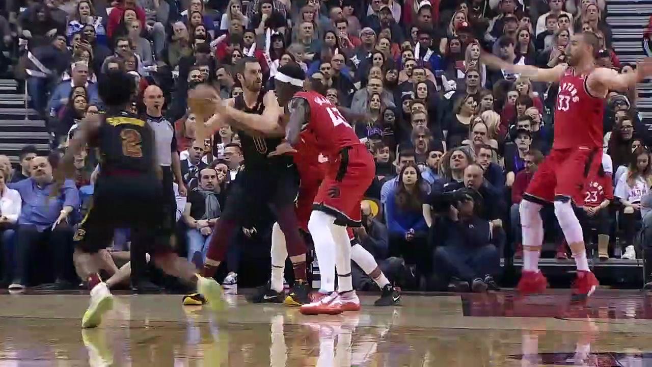 Cleveland Cavaliers 113 - 133 Toronto Raptors