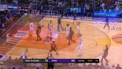 Portland Trail Blazers 111 - 110 Phoenix Suns