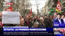Manifestation contre la réforme des retraites: un cortège très dense s'élance à Marseille