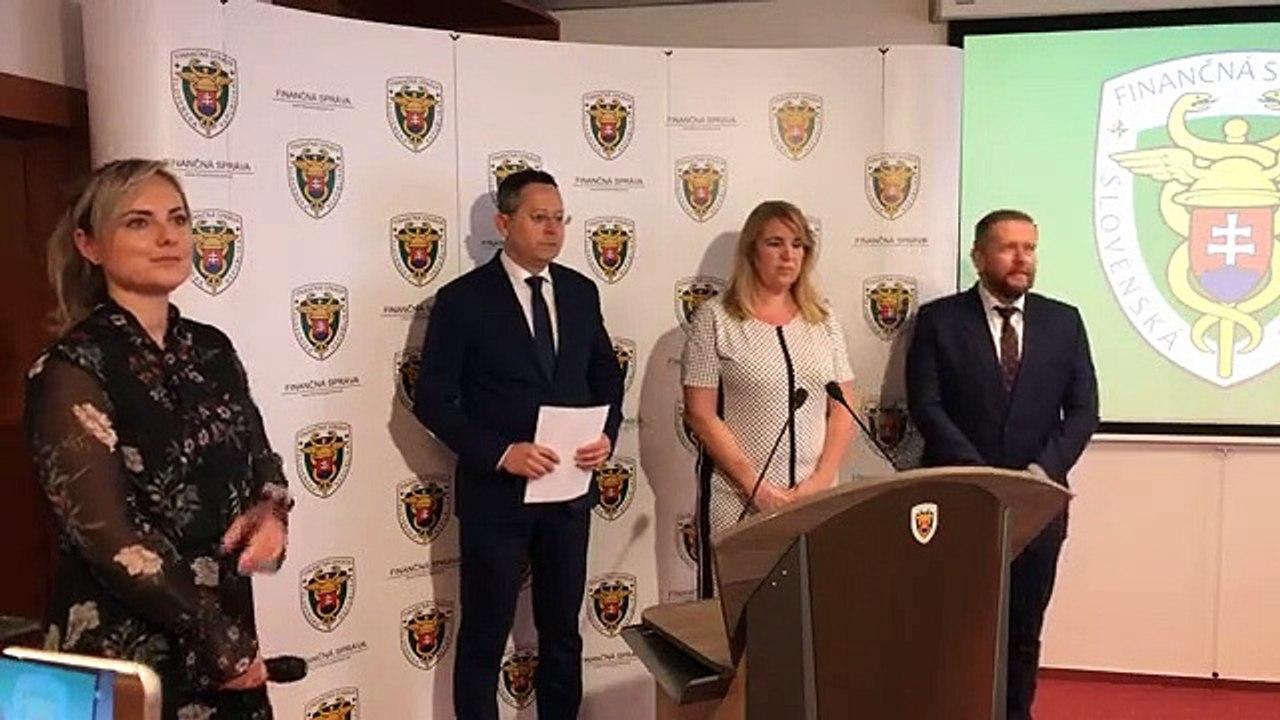 ZÁZNAM: TK ministra financií SR Ladislava Kamenického