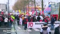 A Marseille, Lyon ou Rennes, rassemblements contre la réforme des retraites
