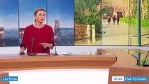 reportage France3 inondations lycée Jean Monnet
