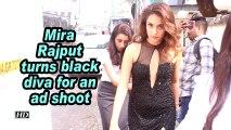 Mira Rajput turns black diva for an ad shoot