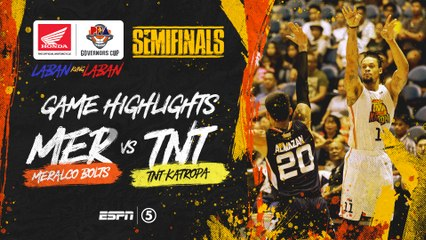 Highlights: G2: Meralco vs TNT | PBA Governors' Cup 2019 Semifinals