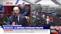 """Retraites: le député LR Damien Abad interpelle Édouard Philippe sur """"l'échec"""" du gouvernement"""