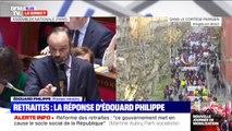 """Édouard Philippe répond à Damien Abad: """"Le système universel permet de créer de nouveaux droits"""""""