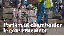 Grève du 17 décembre à Paris : début de manifestation massif et festif