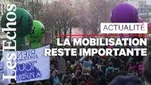 Retraites : la mobilisation reste forte dans la rue