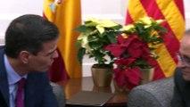 Torra pide una reunión con Sánchez, que le emplaza a verse