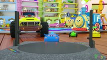 Learn Colors and Race Cars with Max  Bill and Pete the Truck