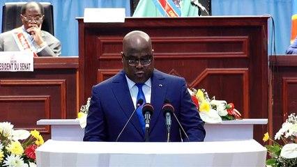 Premier Discours du Président Félix TSHISEKEDI