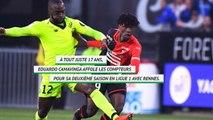 Rennes: Eduardo Camavinga, la nouvelle star