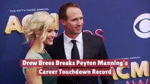 Drew Brees Takes Over Peyton Manning's Record
