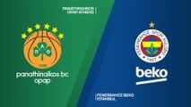 Panathinaikos OPAP Athens - Fenerbahce Beko Istanbul Highlights   EuroLeague, RS Round 14