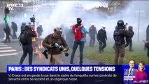 Paris: des syndicats unis, quelques tensions